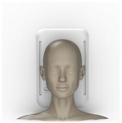 metaSURFACE device placed below head
